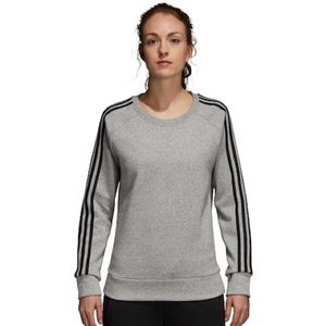 NWOT Adidas Essentials Gray Crewneck
